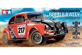 Tamiya 1/10 VW BEETLE RALLY (MF-01X)