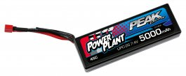 POWER PLANT PEAK LIPO 2S 7.4V 5000 45C DEANS