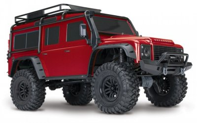 Traxxas Land Rover Defender RTR TRX-4 Scale & Trail Crawler