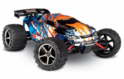 Traxxas xl-2.5 erevo orange