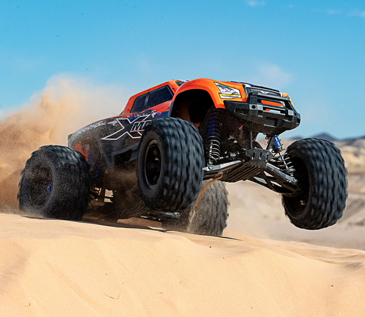 X-Maxx 8S Orange-X 4WD Brushless TQi TSM
